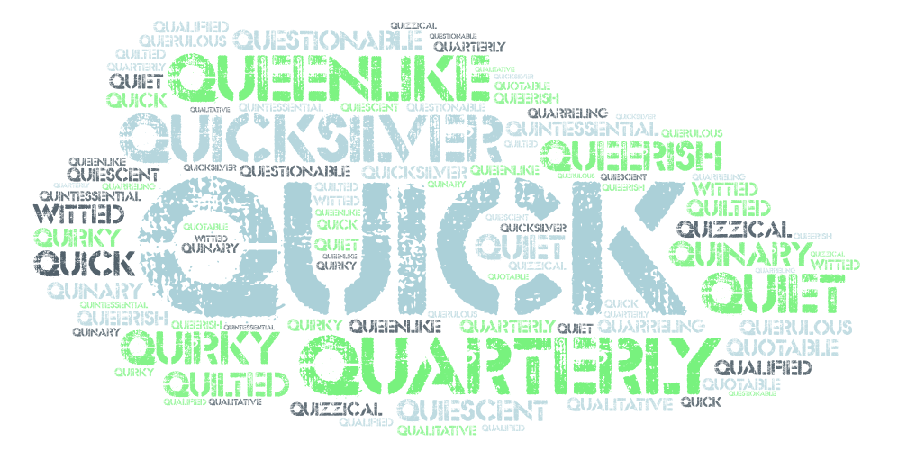 Adjectives That Start with Q