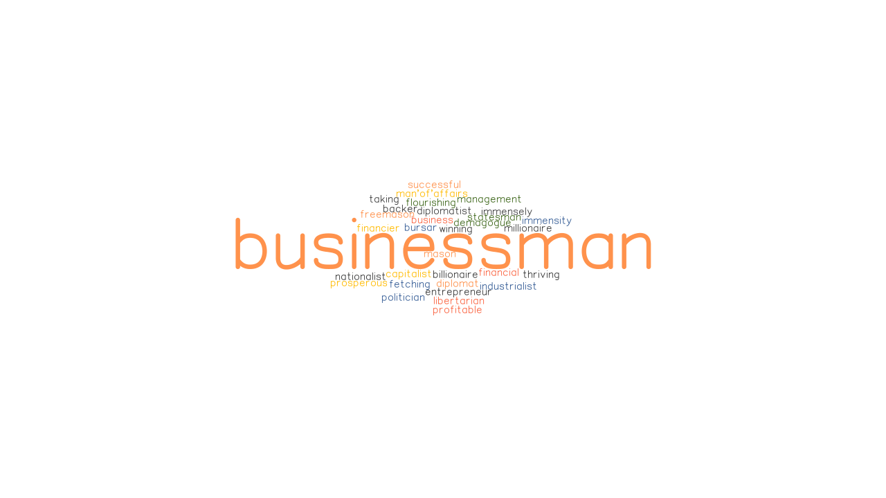 BUSINESSMAN Synonyms and Related Words. What is Another Word for ...
