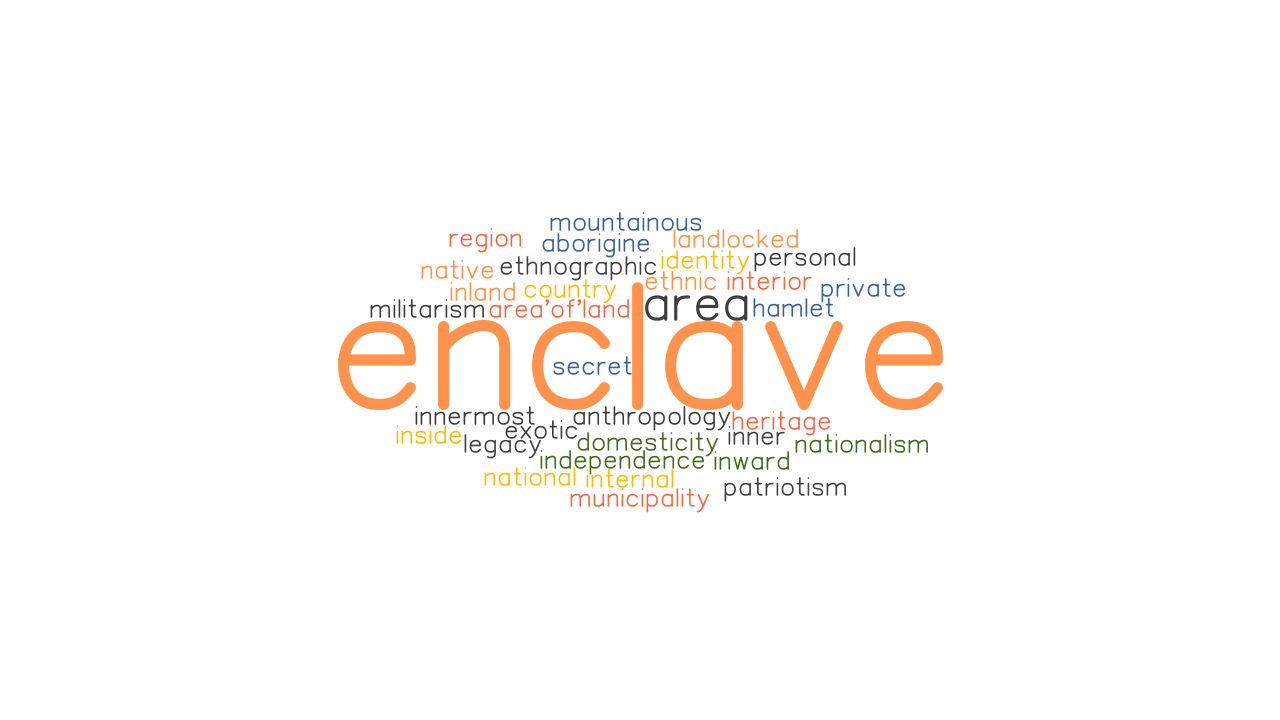 ENCLAVE Synonyms and Related Words. What is Another Word for ...