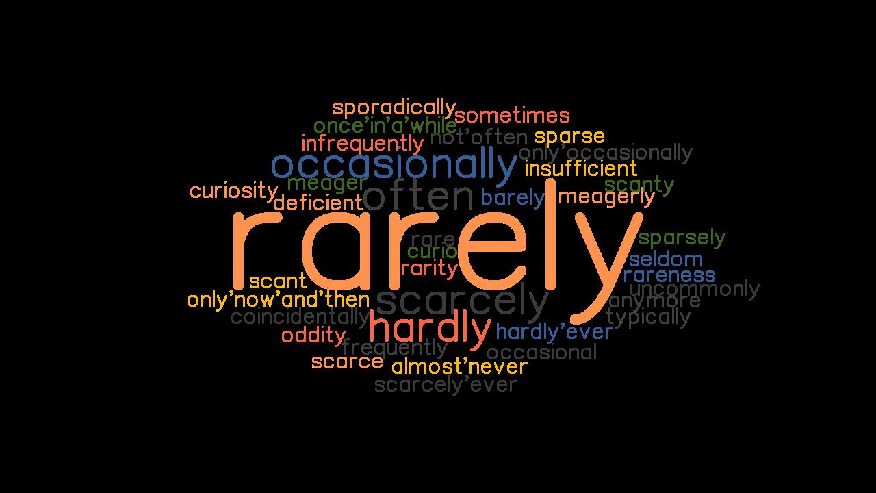 Not Often Rarely