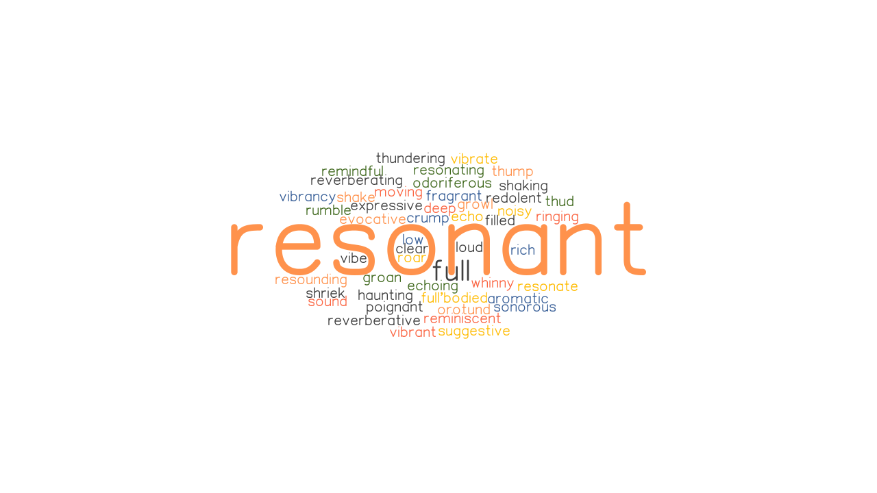 RESONANT Synonyms and Related Words. What is Another Word for ...