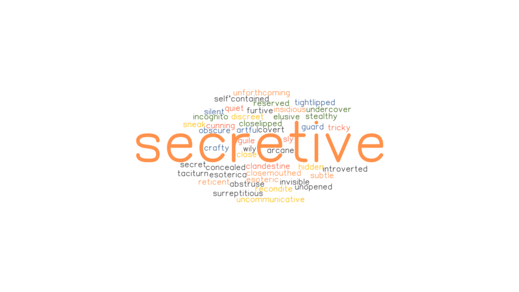 SECRETIVE: Synonyms and Related Words. What is Another ...