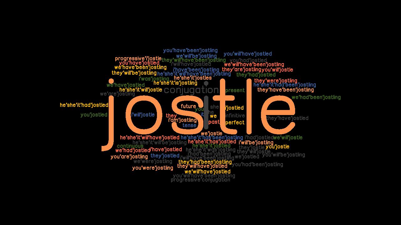 past form jostle Jostle Past Tense: Verb Forms, Conjugate JOSTLE - GrammarTOP.com